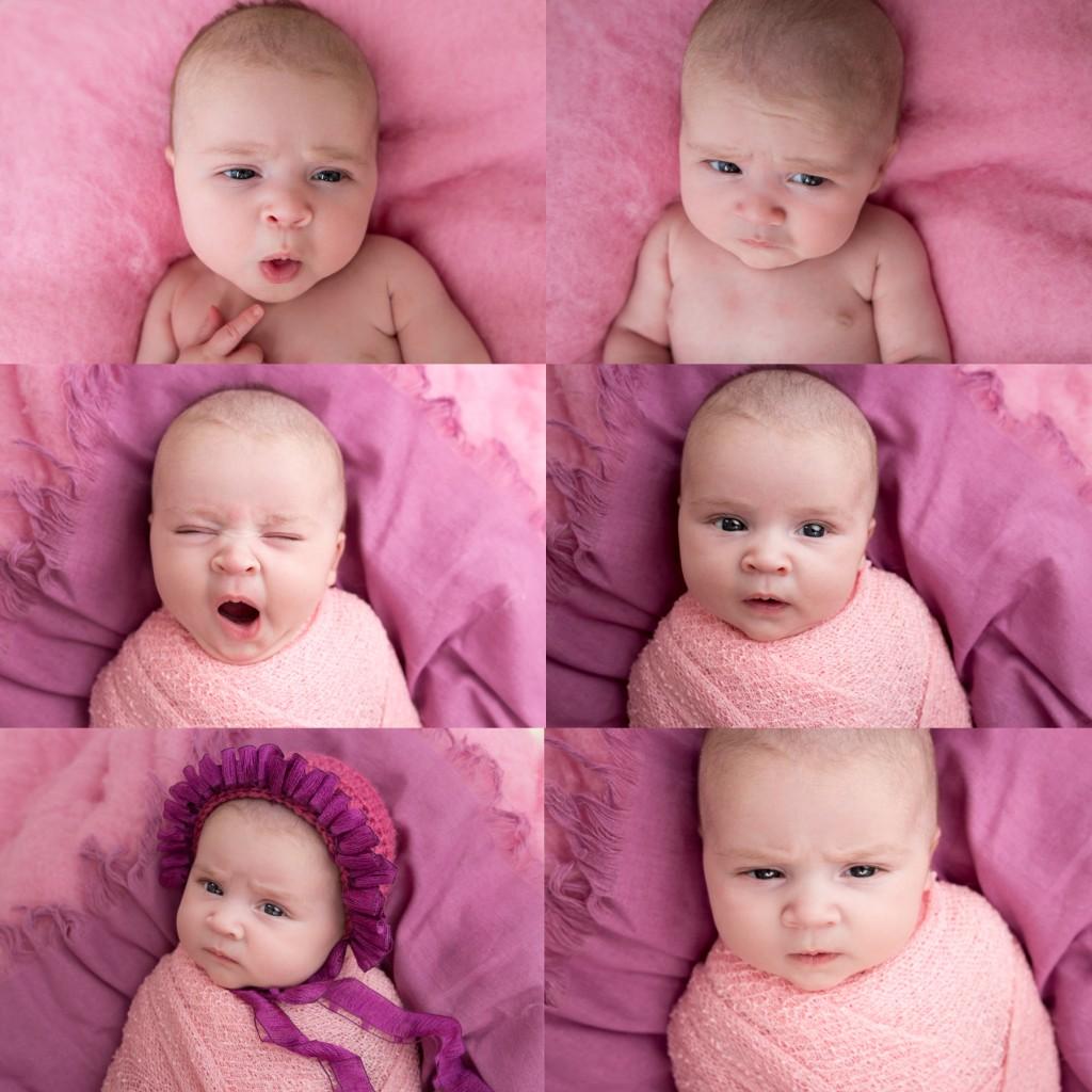 newborn facial expressions